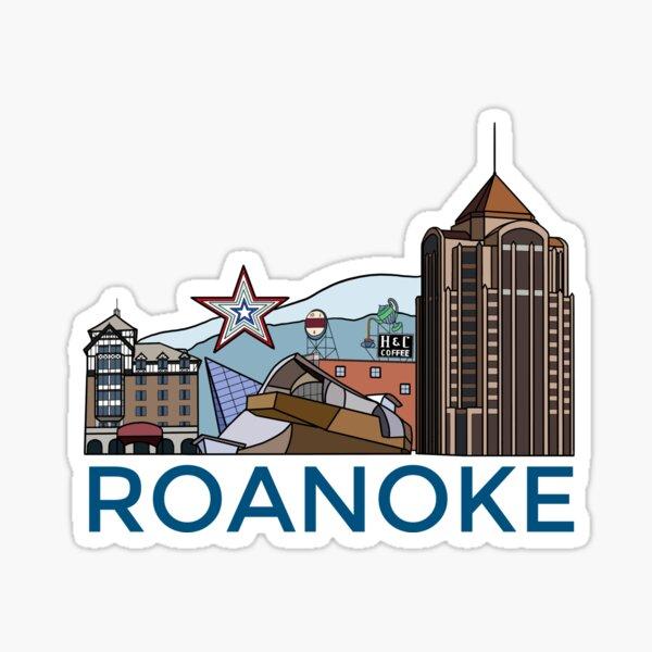 Roanoke, Virginia Sticker
