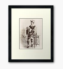 The King of Hearts Framed Print