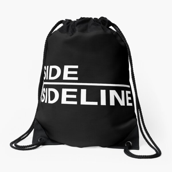 side sideline Drawstring Bag