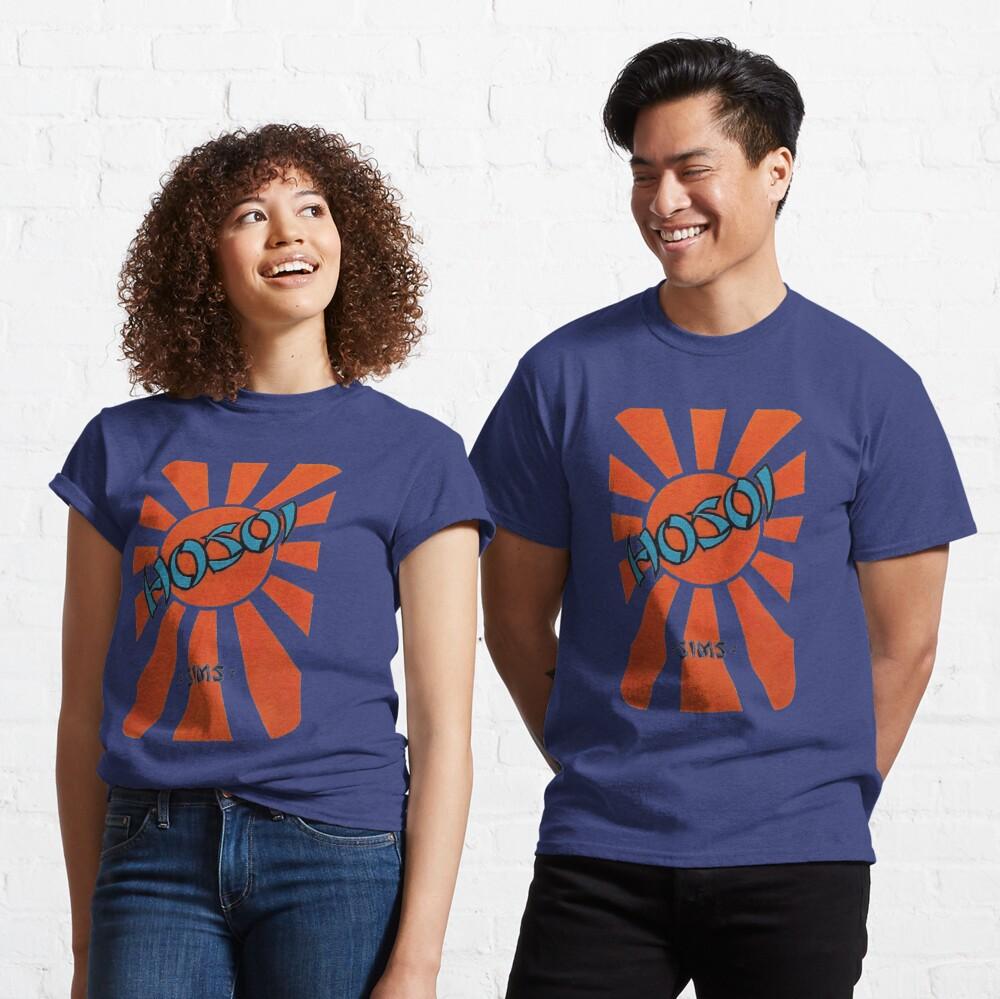 Hosoi sunrise, sims retro skateboard t shirt design.  Classic T-Shirt