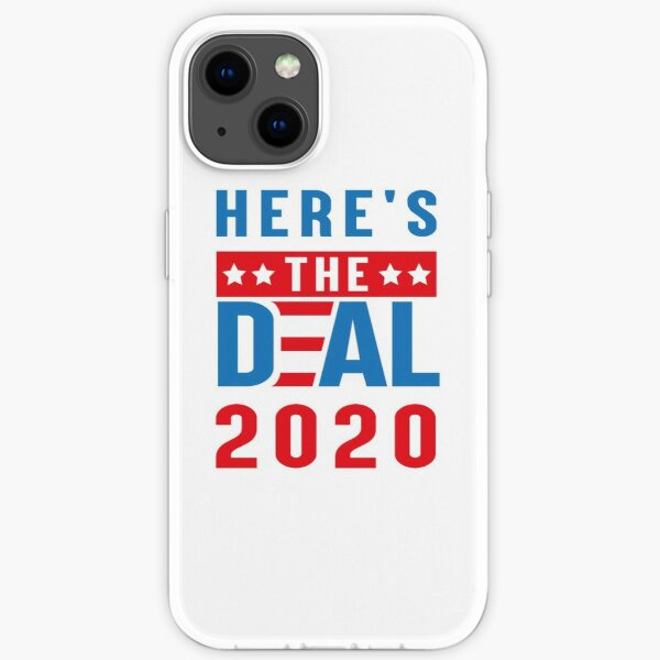 Here's the deal t-shirts  iPhone Soft Case