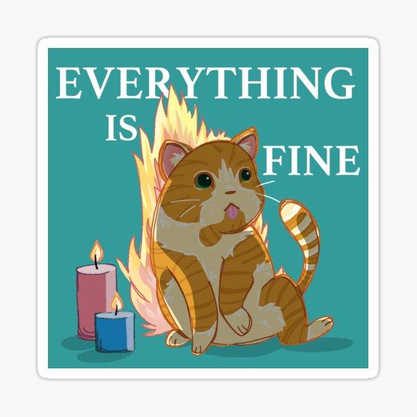 Cats&Candles Sticker