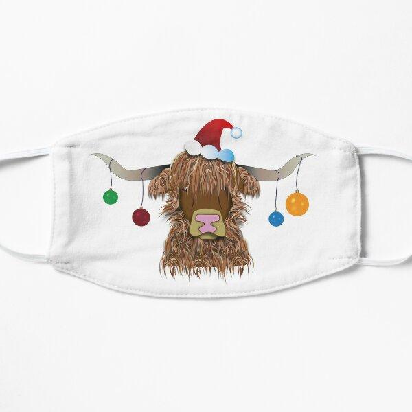 Christmas Cow Flat Mask