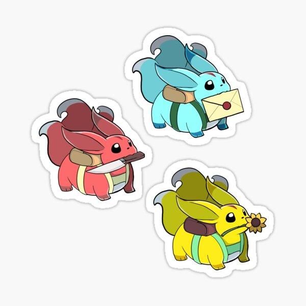3 chubuncles  Sticker