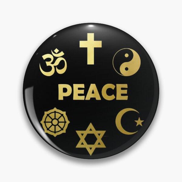 Peace Unity Interfaith Spiritual Pin