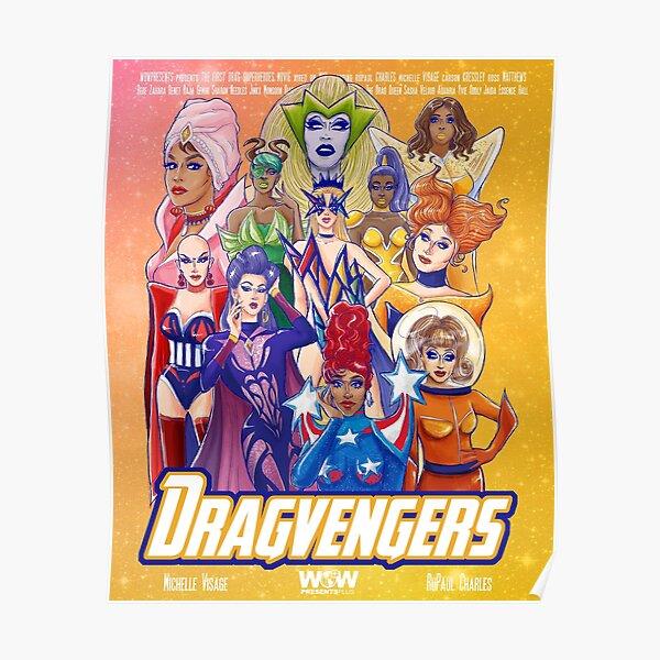 RuPaul's Dragvengers: All winners Poster