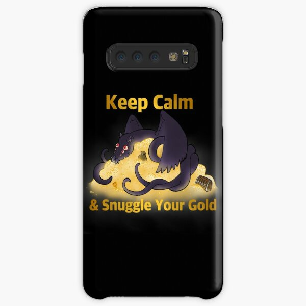 Fafnir Snuggling Gold Samsung Galaxy Snap Case