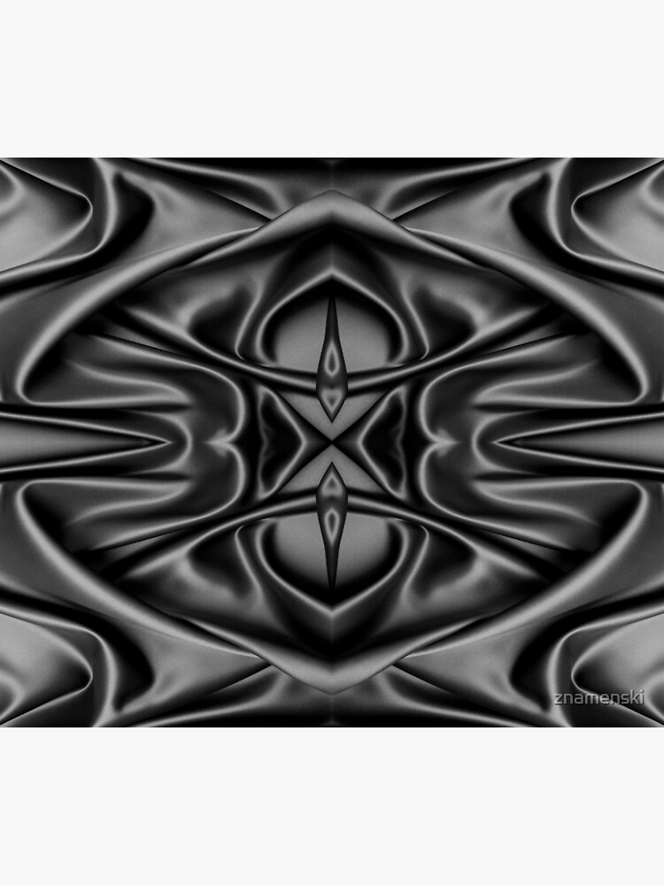 Crumpled matter, silk, wavy, dark, material, fabric, wallpapers, pictures, photos, black fabric by znamenski