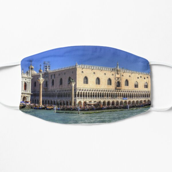 Doge's Palace from the Giudecca Canal Flat Mask
