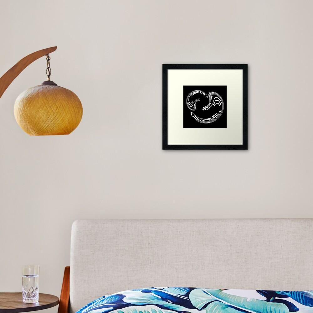 Co-Dependent Framed Art Print