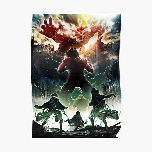 Attack the titans Poster
