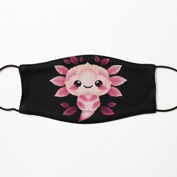 Axolotl of leaves Kids Mask
