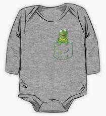 Kermit Pocket - muppet show Kids Clothes