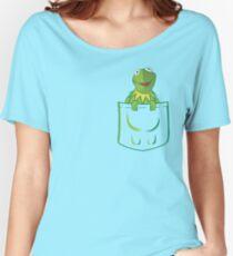 Kermit Pocket - muppet show Women's Relaxed Fit T-Shirt