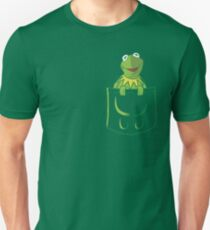 Kermit Pocket - muppet show T-Shirt