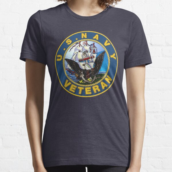U.S. Navy patch logo. Essential T-Shirt