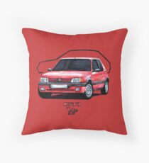 Peugeot 205 GTI Throw Pillow