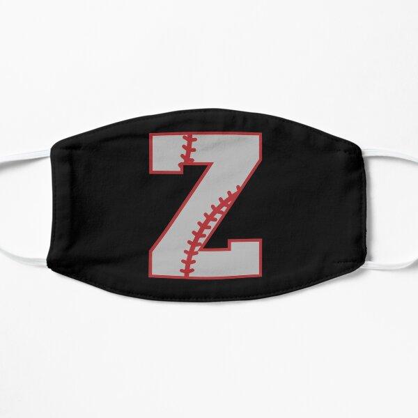 Letter Z Monogram | Baseball Flat Mask