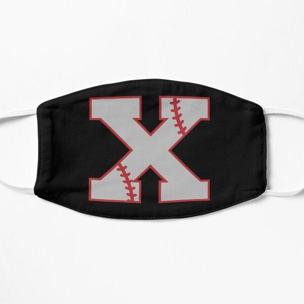 Letter X Monogram | Baseball Flat Mask