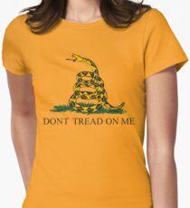 The Gadsden flag Women's Fitted T-Shirt