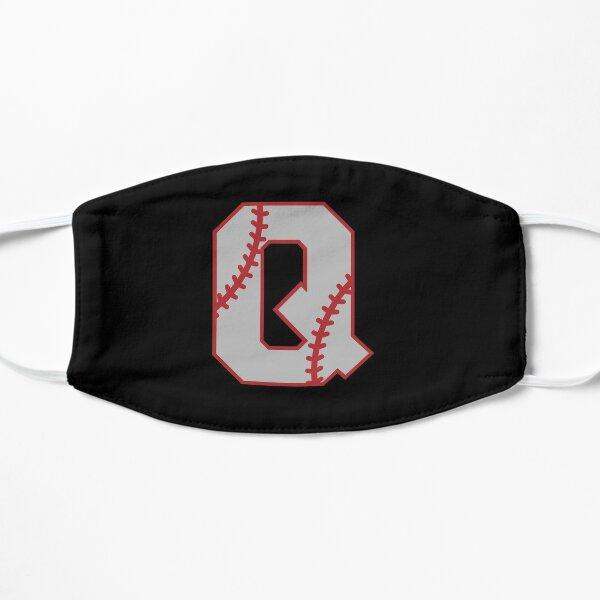 Letter Q Monogram | Baseball Flat Mask