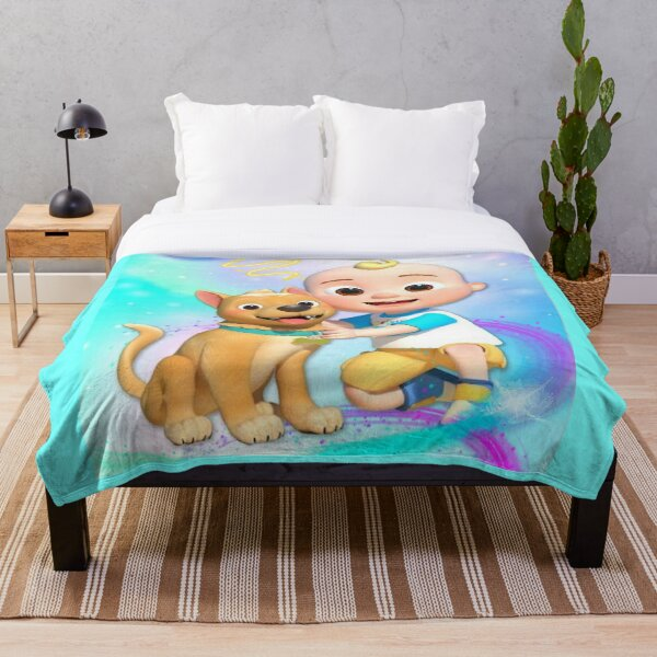 Cocomelon Throw Blanket