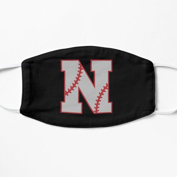 Letter N Monogram | Baseball Flat Mask