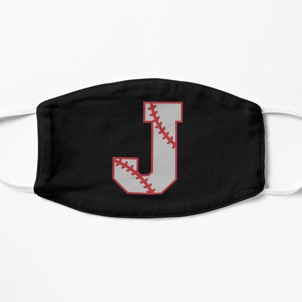 Letter J Monogram | Baseball Flat Mask