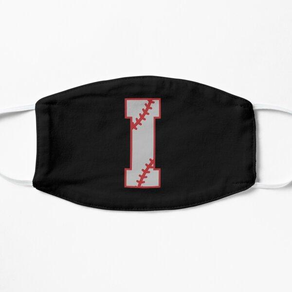 Letter I Monogram | Baseball Flat Mask