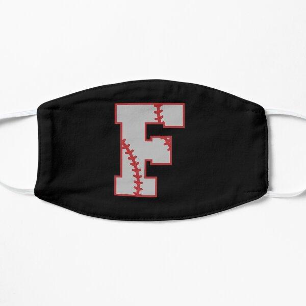 Letter F Monogram | Baseball Flat Mask