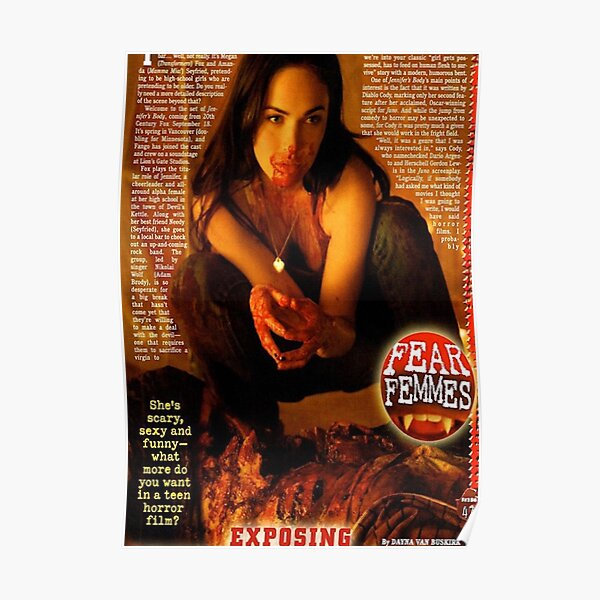 jennifer's body magazine Poster
