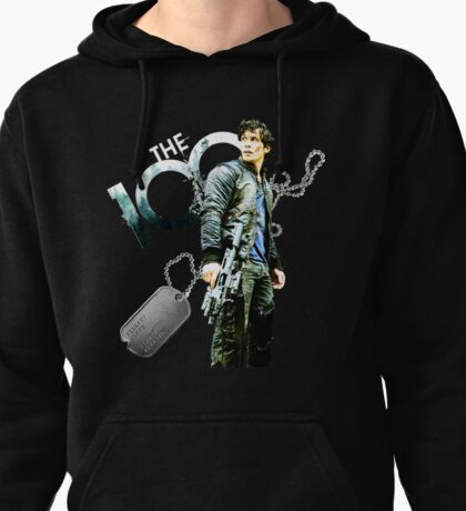 The 100 Bellamy/Forest/Dog Tag Pullover Hoodie