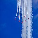 The Red Arrows by willgudgeon