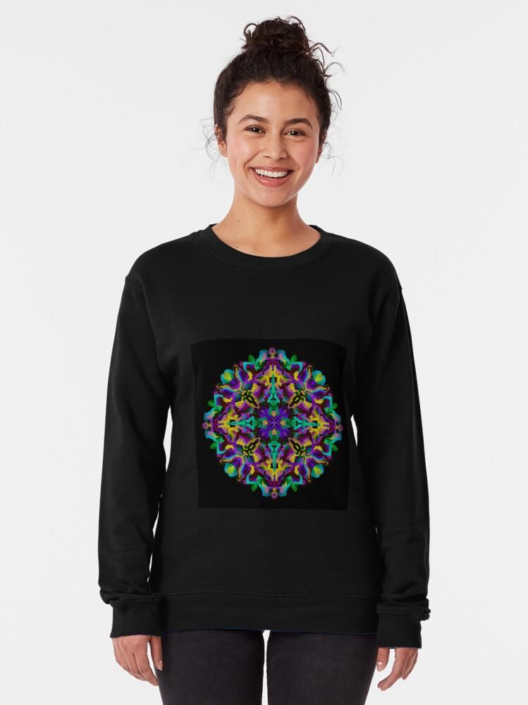 Alternate view of Lavender Lovely Pullover Sweatshirt