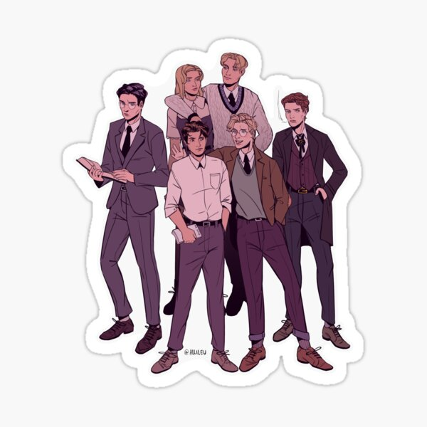 The Secret History Gang  Sticker