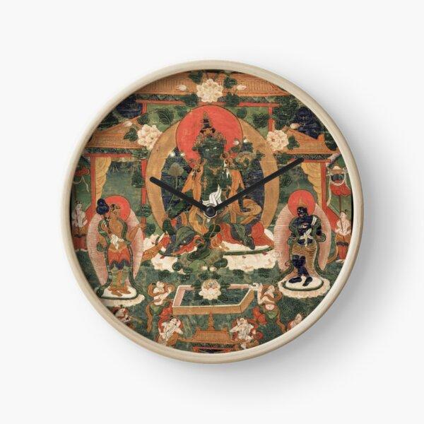 Khadiravani Tara with Marici and Ekajati | Buddhist iconography, Buddhist Clock