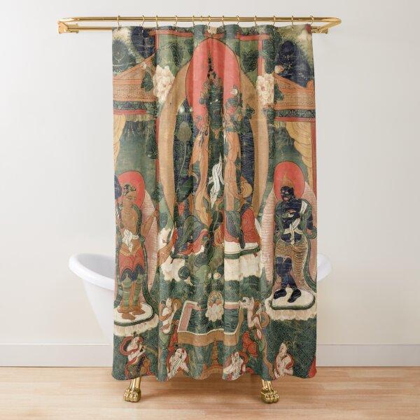 Khadiravani Tara with Marici and Ekajati | Buddhist iconography, Buddhist Shower Curtain