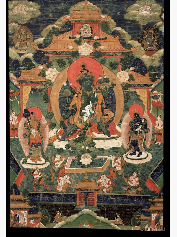 Khadiravani Tara with Marici and Ekajati | Buddhist iconography, Buddhist by znamenski