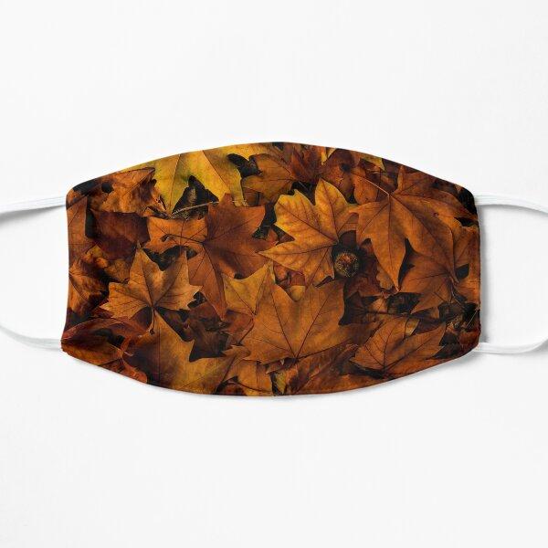 autumn leaf fall  Flat Mask