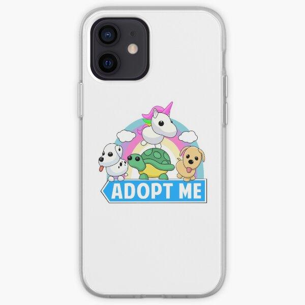 Adopción de animal lindo Funda blanda para iPhone