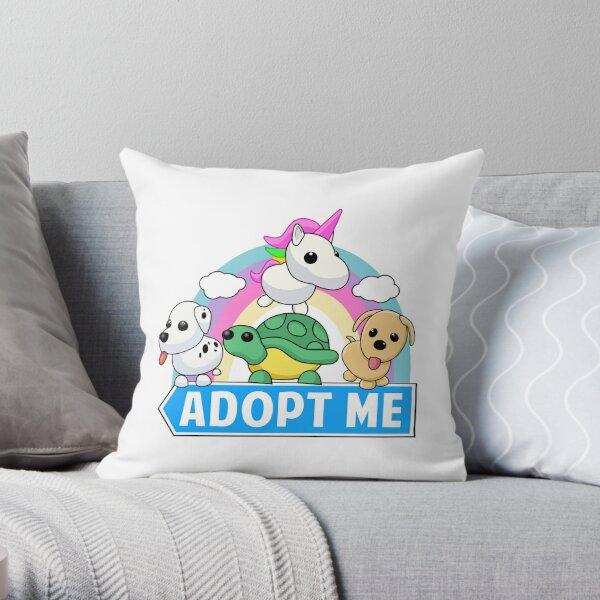 Cute animal adopt Throw Pillow