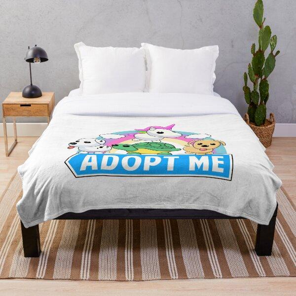 Cute animal adopt Throw Blanket
