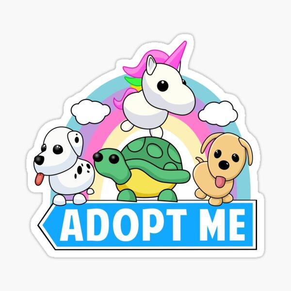 Adopción de animal lindo Pegatina