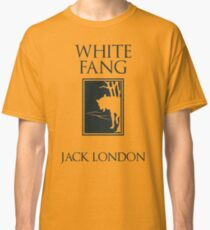 White Fang Jack London book cover Classic T-Shirt