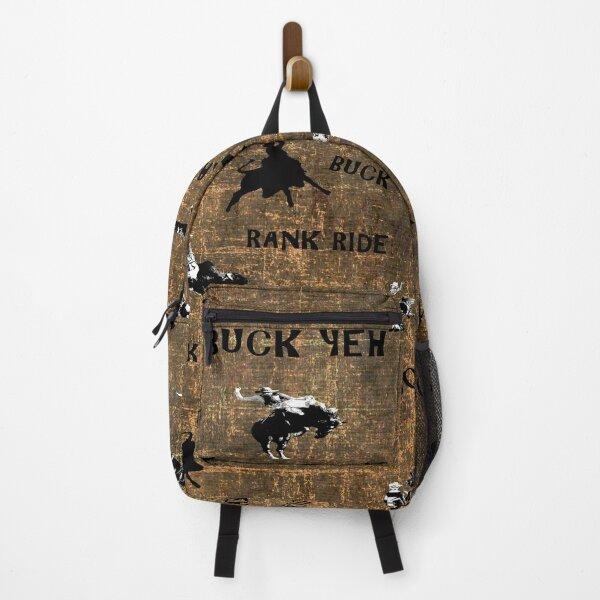 RODEO BULL- BUCK OFF Backpack