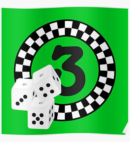 Bunco Dices - Table No Three VRS2 Poster