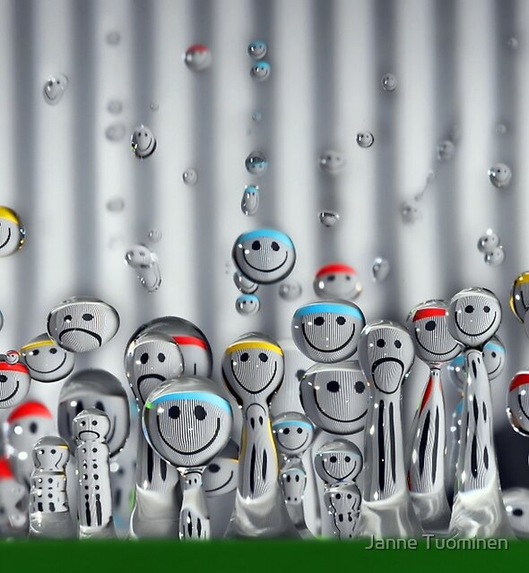 Droplet Meeting by Janne Tuominen