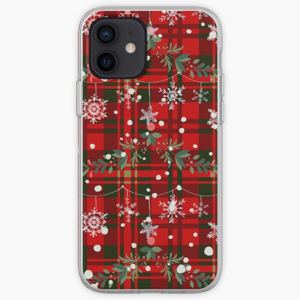 Weihnachtstartan iPhone Flexible Hülle