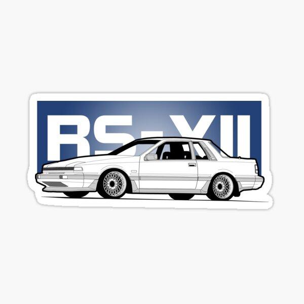 RS-XII Blue Notch Sticker