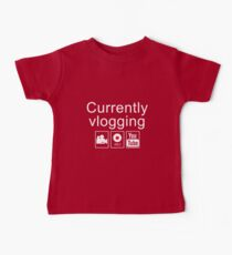 Currently Vlogging - YouTube Baby Tee